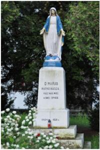 kapliczka sw. Marcina w Stężycy
