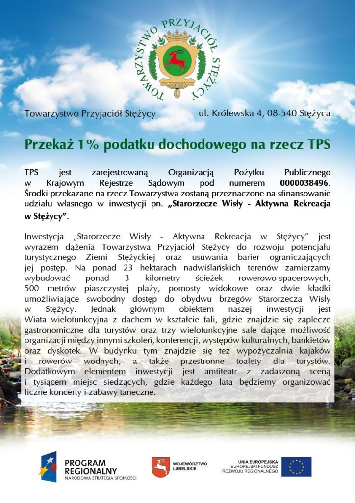 1% dla TPS 2012