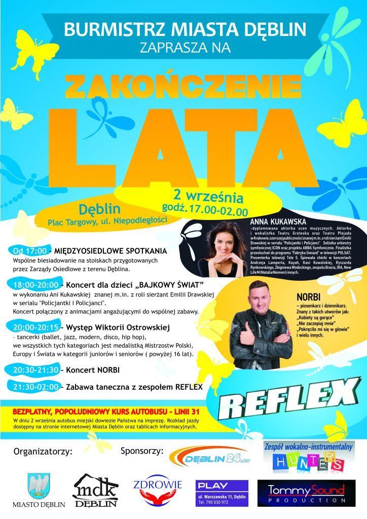 PLAKAT-FESTYNU ZAKOŃCZENIE LATA