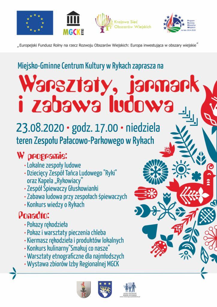 zaproszenie_warsztaty jarmark_plakat_druk